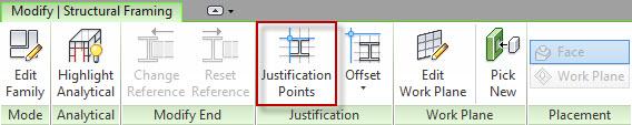 Revit 2015 - Justification Points