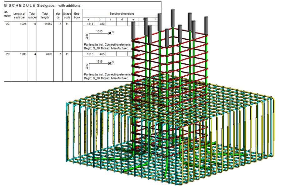 Rebar Couplers And Schedule Autodesk Revit Structure