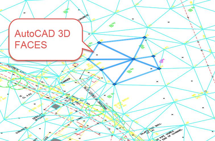 C3D to AutoCAD 3D Faces